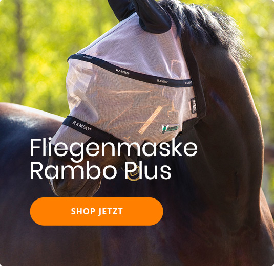 Fliegenmaske Rambo Plus