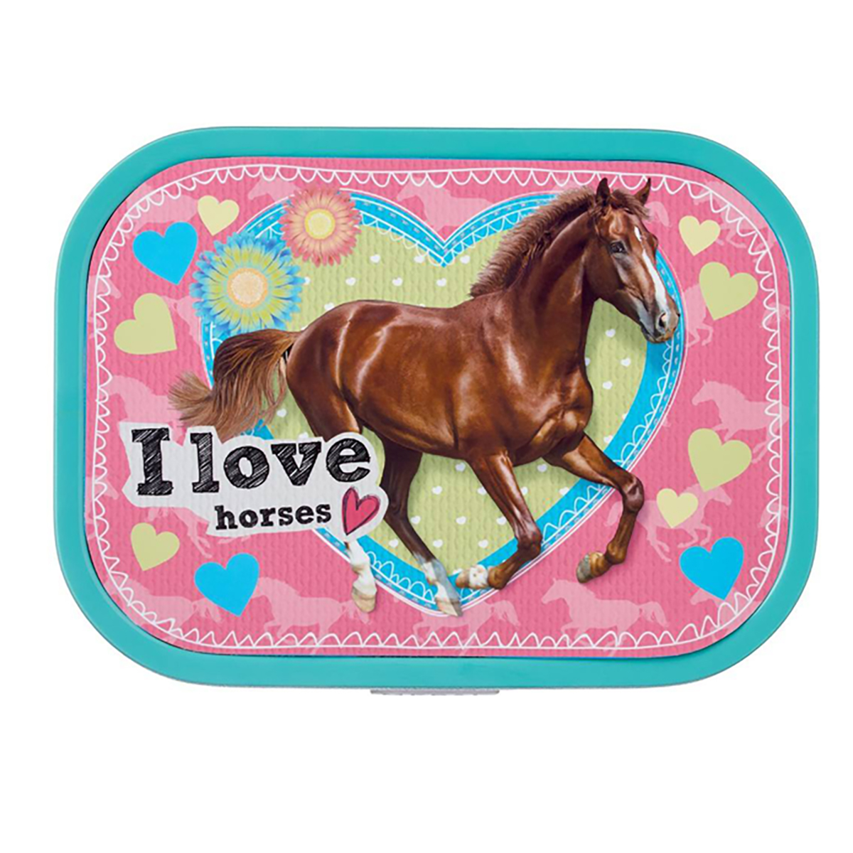 Lunchbox Horsepoint�in Pink